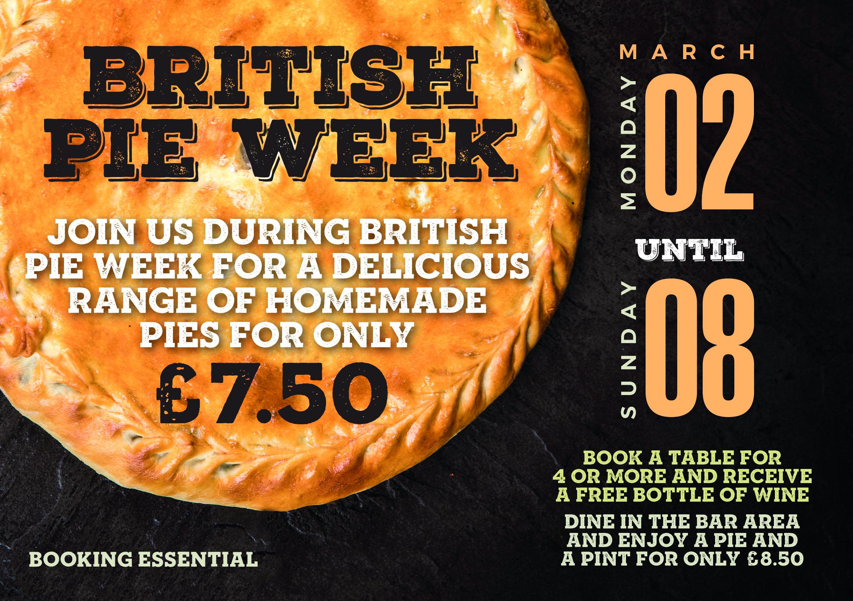 British Pie Week – March Event