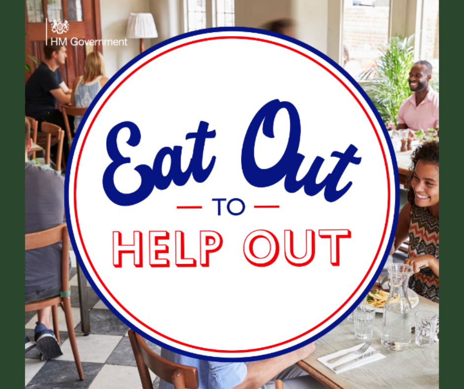 Proud to be Part of Eat Out to Help Out!
