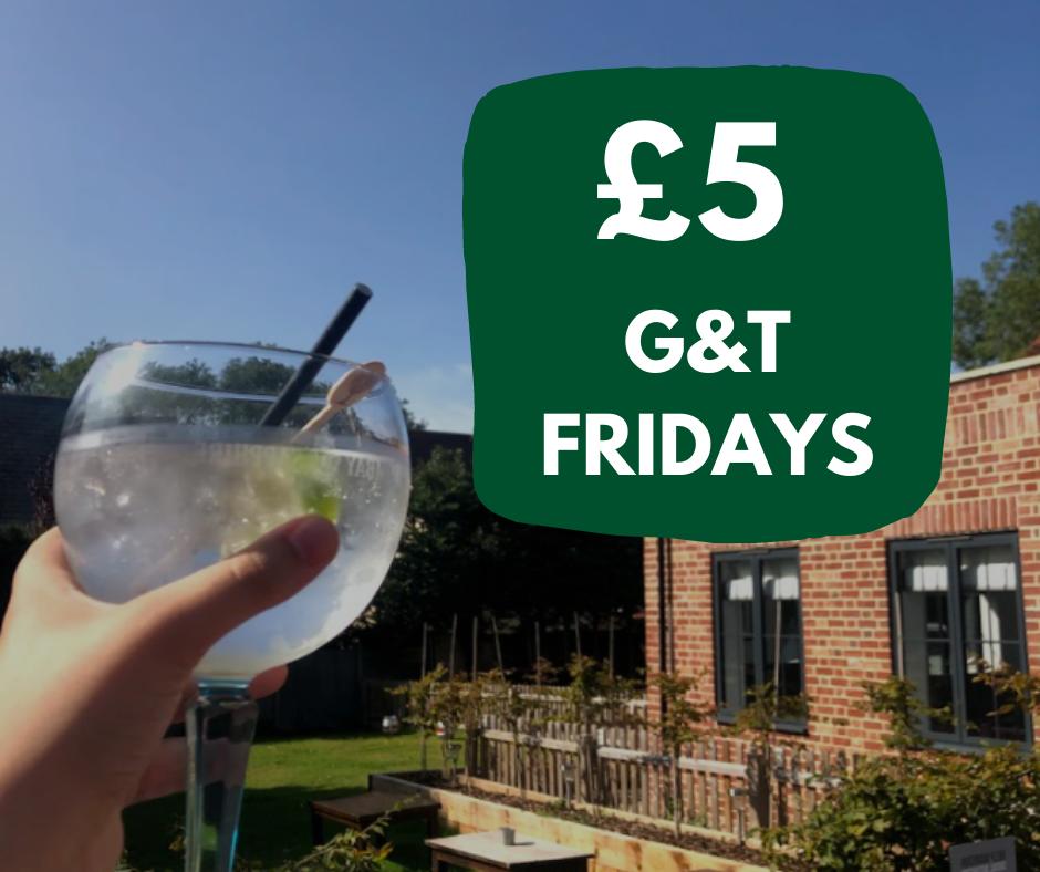 £5 G&T Fridays