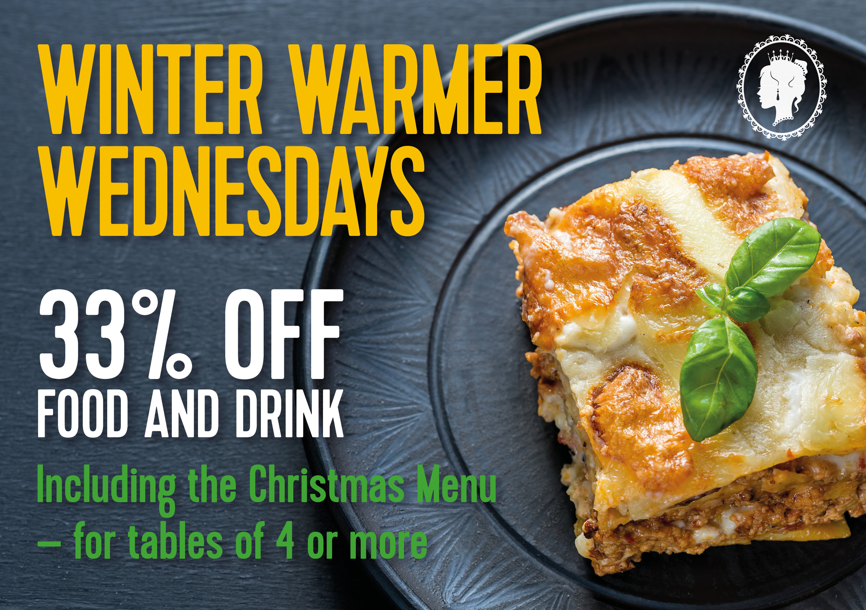Winter Warmer Wednesdays