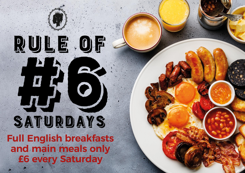 Rule of #6 Saturdays