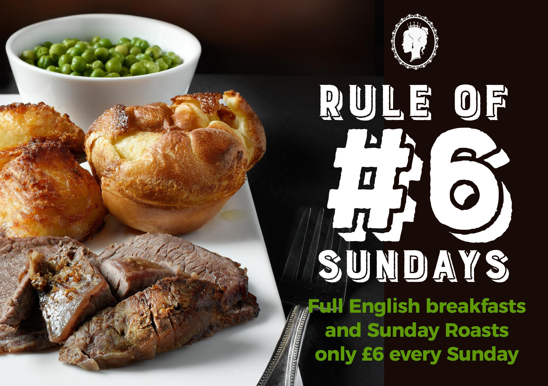 Rule of #6 Sundays