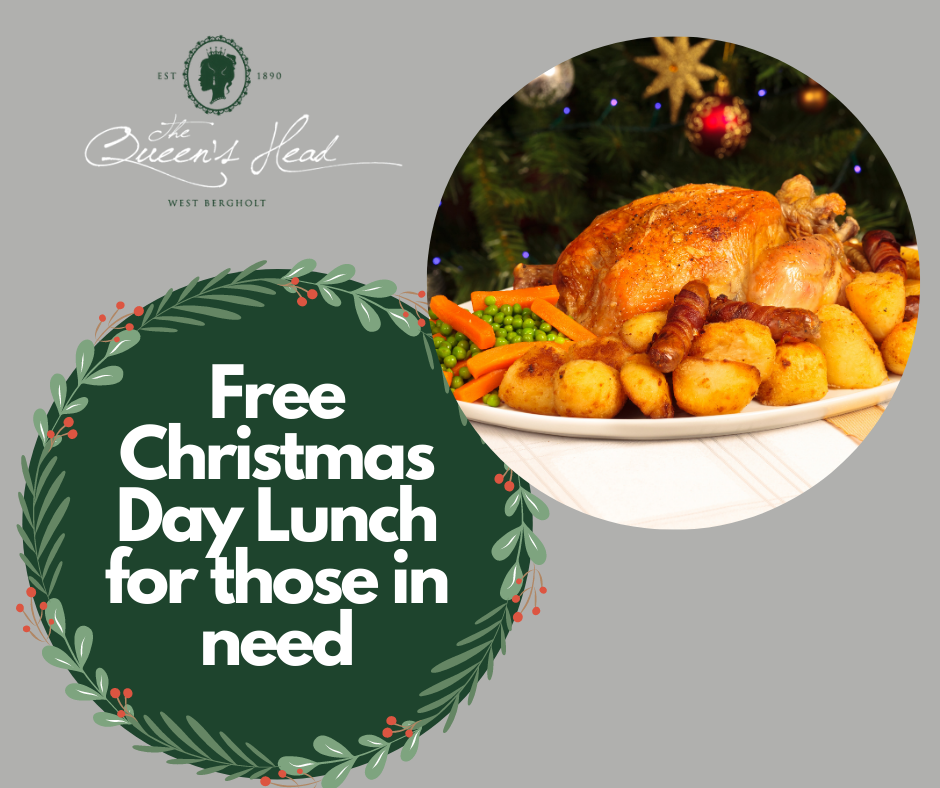 Free Christmas Day Lunch for those in need